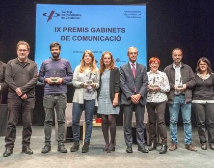 IX Premis Gabinets de Comunicació 2017. Foto: Joan Castro/ICONNA