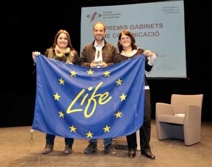 Premi Millor Acció de Comunicació 2017-Life Pletera